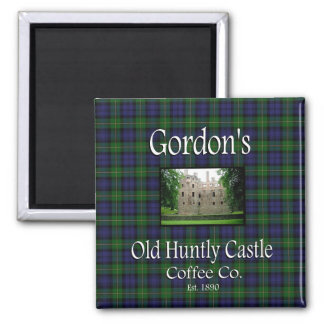 Gordons alter Huntly Magnet des Schloss-Kaffee-Co.