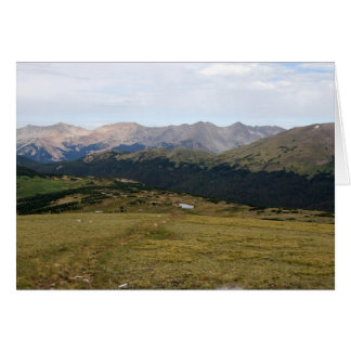 Gore-Strecke, Rocky Mountain Nationalpark, Karte