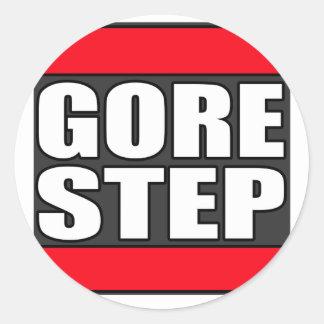 GORESTEP Dubstep Runder Sticker