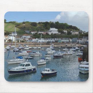 Gorey Hafen-Boote Mousepad
