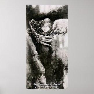Gorgon - Wilhelm Kotarbinski Plakatdruck