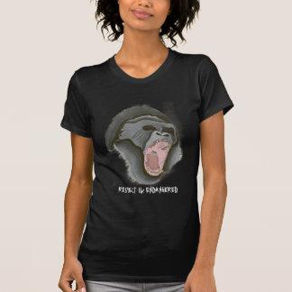 gorilla2, RESPEKTIEREN GEFÄHRDET T-Shirt