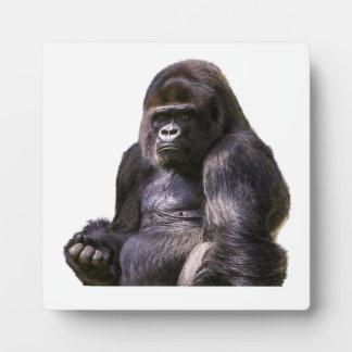 Gorilla-Affe-Affe Fotoplatte