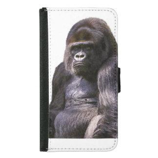 Gorilla-Affe-Affe Geldbeutel Hülle Für Das Samsung Galaxy S5