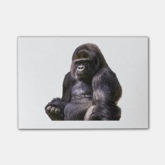 Gorilla-Affe-Affe Post-it Klebezettel