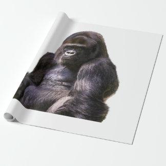Gorilla-Affen-Affe Geschenkpapier