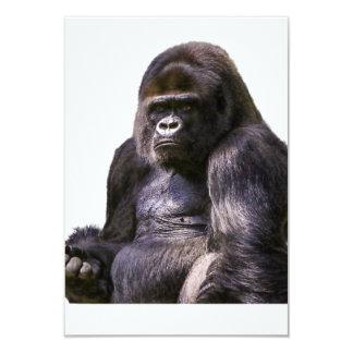 Gorilla-Affen-Affe Karte