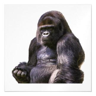 Gorilla-Affen-Affe Magnetische Karte
