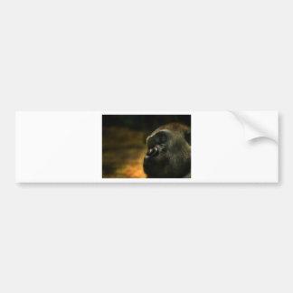 Gorilla Autoaufkleber