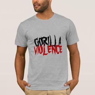 GORILLA, GEWALT T-Shirt
