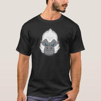 Gorilla-grafisches T-Stück (Schwarzes) T-Shirt