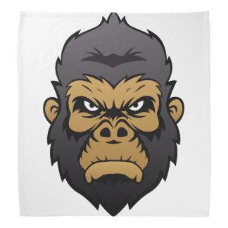 Gorilla-Hauptkarikatur Halstuch