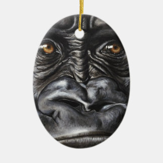 Gorilla Keramik Ornament