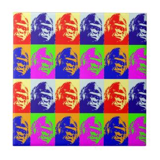 Gorilla-Pop-Kunst Fliese