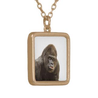 Gorilla-Schellfisch Vergoldete Kette