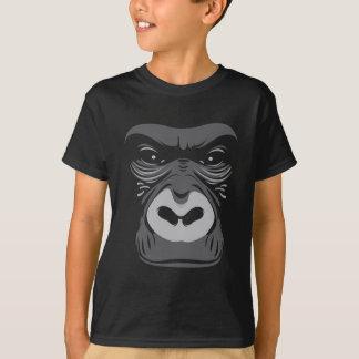 Gorilla-Schwarzes T-Shirt