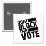 Gorilla-Zoe-Knopf - blockieren Sie nicht die Absti Buttons
