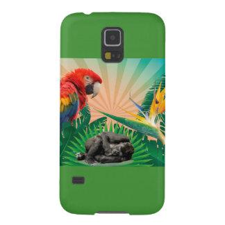 Gorilladschungelpapagei Hülle Fürs Galaxy S5
