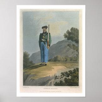 Gorkah Soldat, 'von der Zeitschrift eines Weges he Plakatdrucke