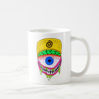 Gory Augapfelgraphik-Tasse Kaffeetasse