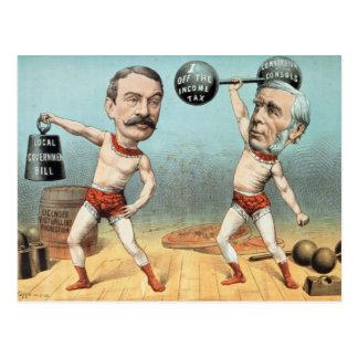 Goschen und Ritchie, das Meister-Gewicht Postkarte