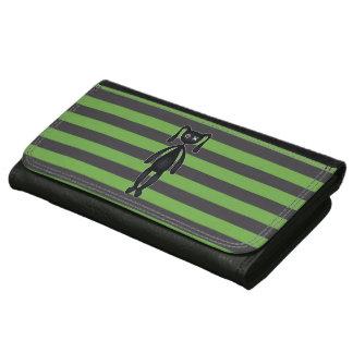 Goth grünes und schwarzes Häschen