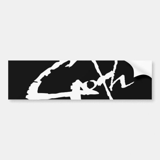 goth_logo auto aufkleber