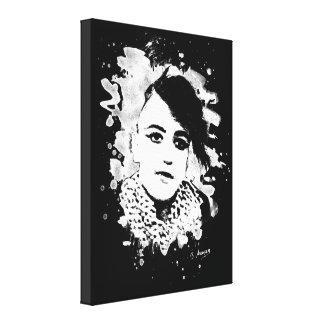 Goth Punk Girl Leinwanddruck