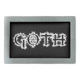 Goth Rechteckige Gürtelschnallen