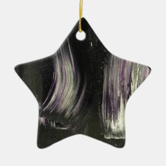 Goth Spaß! Keramik Stern-Ornament