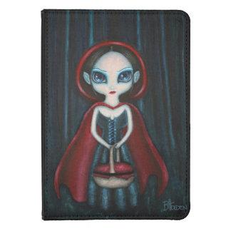 Gothic Dark Red Riding Hood