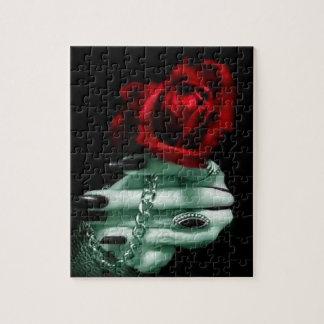 Gothic-Rose Jigsaw Puzzle