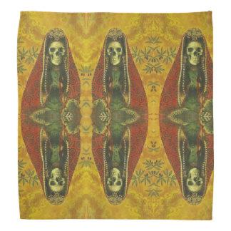 Gotische dekorative Skeleton Entwurfs-Bandanna Kopftuch