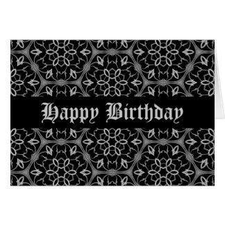 Gotische Eleganz alles Gute zum Geburtstag