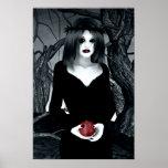 Gotische Eve-Kunst Poster