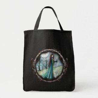 Gotische Fantasievampire-Taschen-Tasche Einkaufstasche