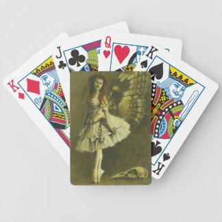 Gotische feenhafte Spielkarten