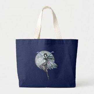 Gotische himmlische feenhafte Feen-Taschen-Tasche Jumbo Stoffbeutel