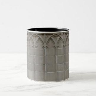 Gotische Kaffee-Tasse des Entwurfs-#15 Zweifarbige Tasse