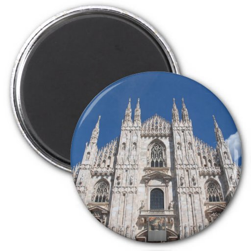 Gotische Kathedralen-Kirche Mailand Italien Duomo- Magnets