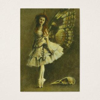 Gotische Künstler-Trading Card der Fee-ACEO Visitenkarte