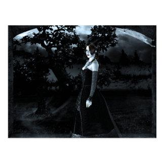 Gotische Mädchen der Torbogen Postkarte