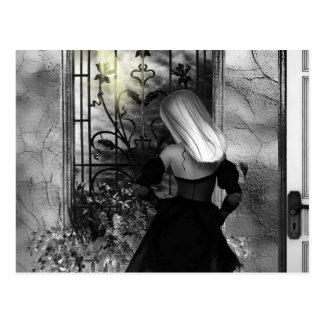 Gotische Mädchen immer eine andere Dämmerung Postkarte