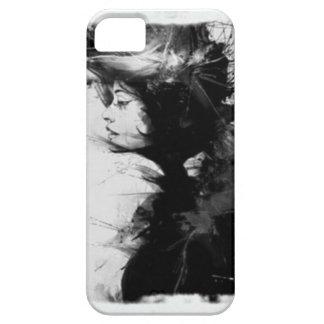 Gotische Mädchenkunst iPhone 5 Hülle