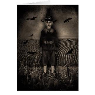 Gotische Mais-Kinder Karte