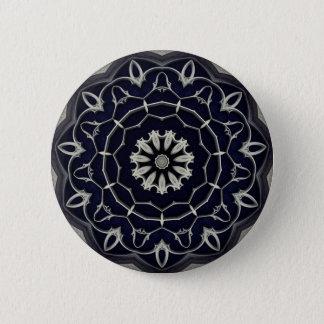 Gotische Mandala Runder Button 5,1 Cm