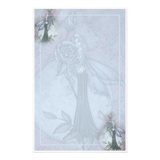 Gotische Rosen-feenhaftes stationäres durch Molly  Personalisierte Druckpapiere