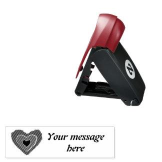 Gotische schmelzende Liebe-Herz-kundenspezifische Taschenstempel