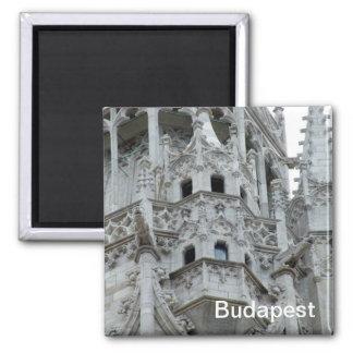 Gotischer Balkon Quadratischer Magnet