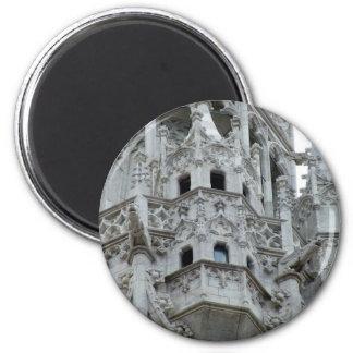 Gotischer Balkon Runder Magnet 5,7 Cm